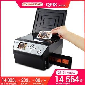22 мега пикселей 4 в 1 комбинированный фото и цифровой пленочный сканер 135 отрицательный конвертер фото мм 35 мм пленка сканер Визитная карточк...