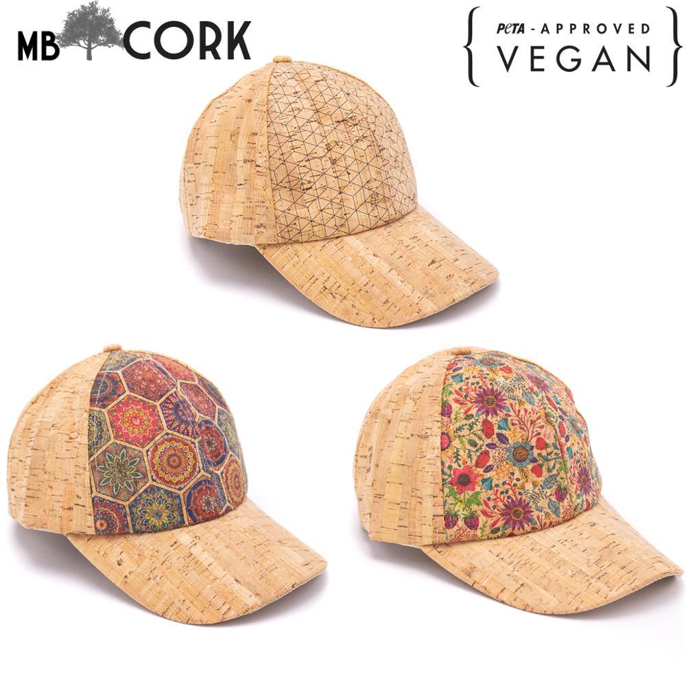 Cork Hat Natural Women Men Cork Baseball Cap L-058