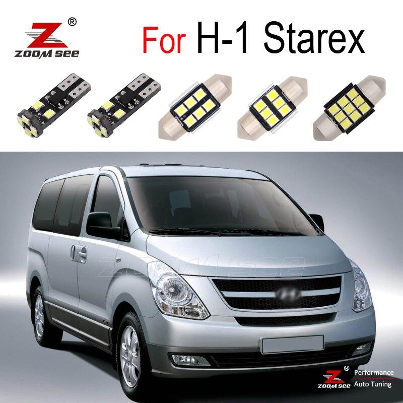 Coche Canbus LED para Hyundai H 1 H1 Starex Grand Starex i800 1997 2015 LED lámpara Interior Kit de luz