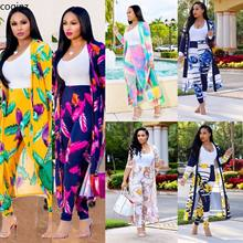 Plus Size Summer 2019 Two Piece Set Womens Tops and Blouses 2 Piece Set Matching Sets Tracksuit Women Club Outfits Clothes K8576(China)