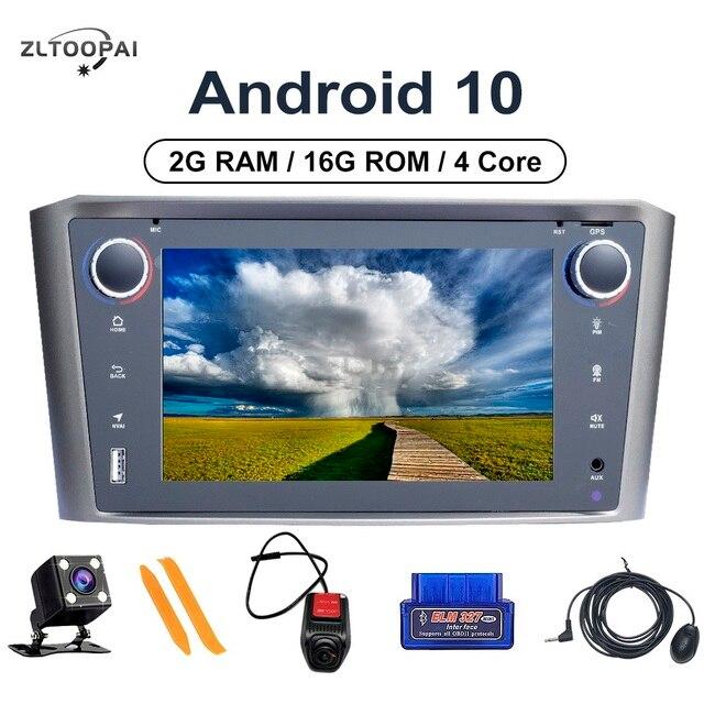 ZLTOOPAI lecteur multimédia de voiture Android 10