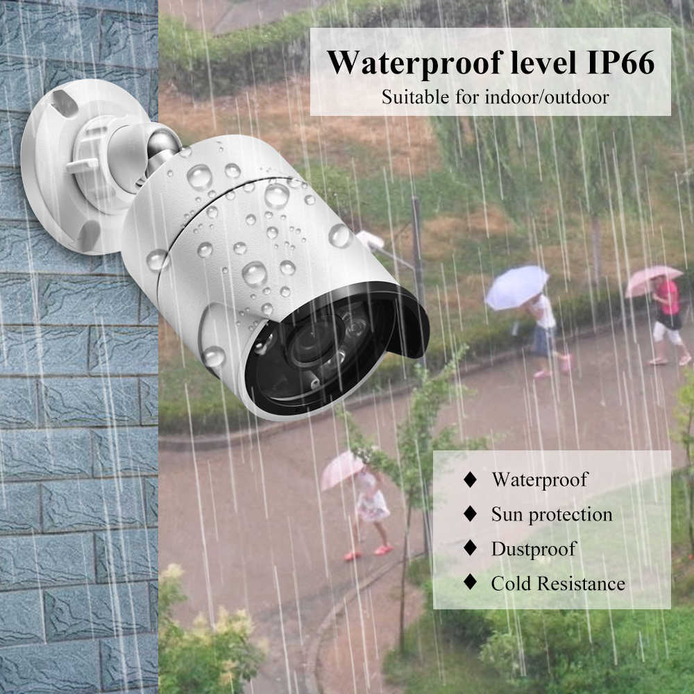 غادينان 16CH 5MP بو طقم NVR H.265 نظام الكاميرا الأمن 5MP 3MP الصوت AI IP كاميرا في الهواء الطلق مقاوم للماء مجموعة مراقبة الفيديو