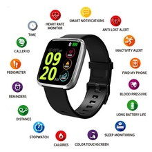 2019 Sports Health Smart Watch Pedometer Sleep Heart Rate Bl