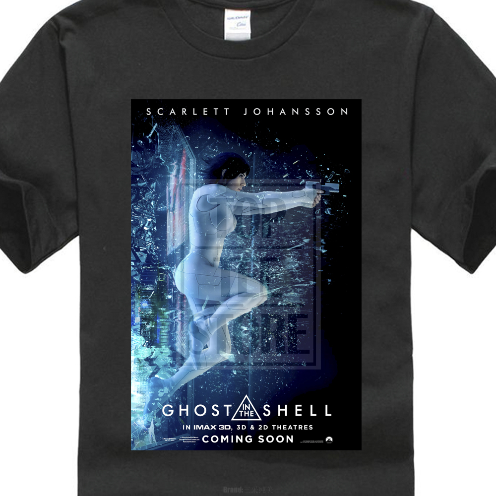 Ghost In The Shell Imax Poster Sci Fi Cult Movie T Shirt 024795 image