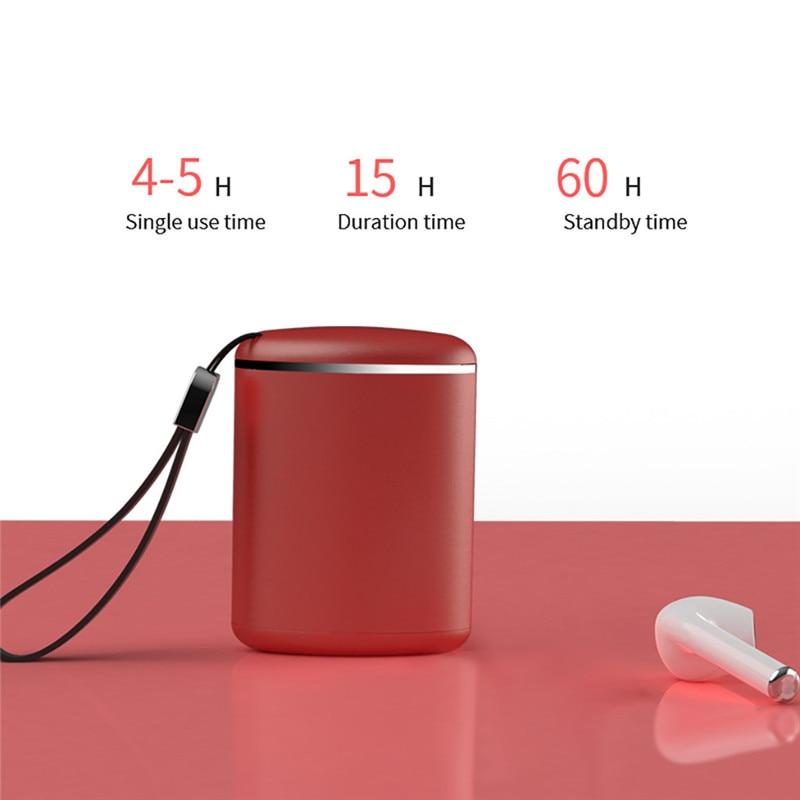 M9 Earphone BT 5.0 TWS Wireless Bluetooth Earphone Stereo Ergonomic Design Noise Reduction Earbuds Fone De Ouvido 40SEP1120