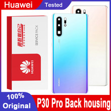 Original Back Housing Replacement for Huawei P30 Pro Back Cover Battery Glass with Camera Lens For P30 Pro Rear Cover With Logo