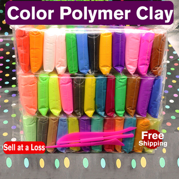 12 24 36 Colors/Bag Polymer Light Clay Fluffy Soft Plasticine Toy Modelling Clay Playdough Educational Toys DIY Clay Kids Girls diy 24 colors soft clay nontoxic playdough modelling polymer oven harden plasticine kit with book tools slime toys set for child