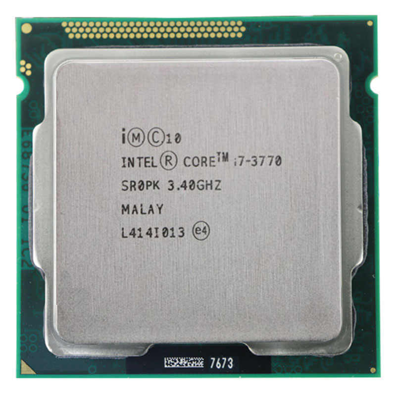 Untuk Intel Core I7-3770 I7 3770 CPU 3.4GHz 8M 77W 22nm Quad-Core Socket 1155 Desktop CPU