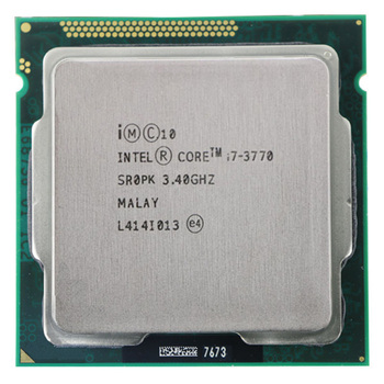 For Intel Core i7-3770 I7 3770 CPU 3.4GHz 8M 77W 22nm Quad-Core Socket 1155 Desktop CPU