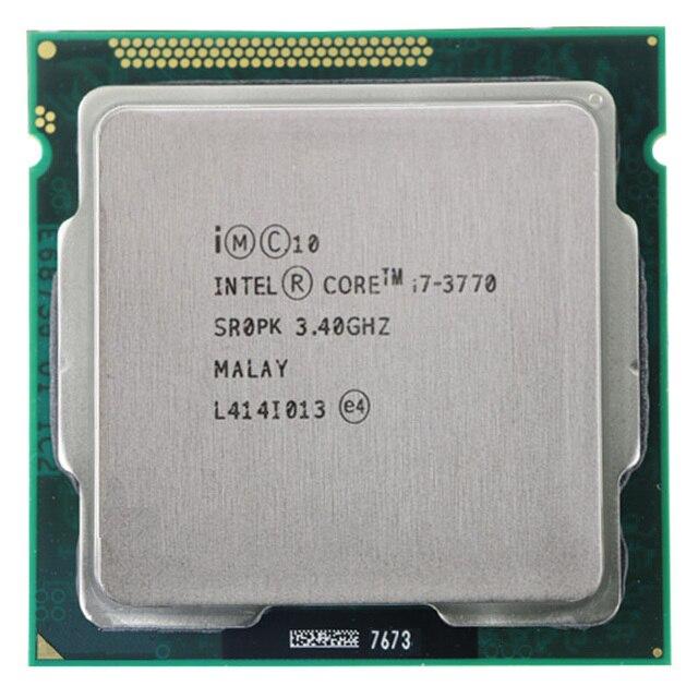 For Intel Core i7-3770 I7 3770 CPU 3.4GHz 8M 77W 22nm Quad-Core Socket 1155 Desktop CPU