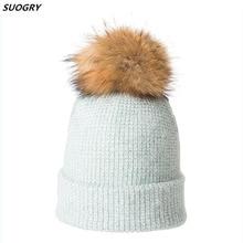 SUOGRY Unisex Autumn Winter Hats For Women Men Knitted Cap Winter Beanie Hat Warm Knitting Skullies Caps Men Winter Hats