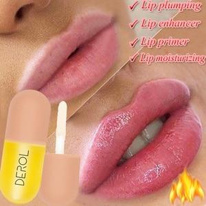 Moisturizing Plumping Lip gloss Lip Plumper Mineral Oil Lip Extreme Volume Essence Lips Enhancer Cosmetics Nutritious Lip gloss(China)