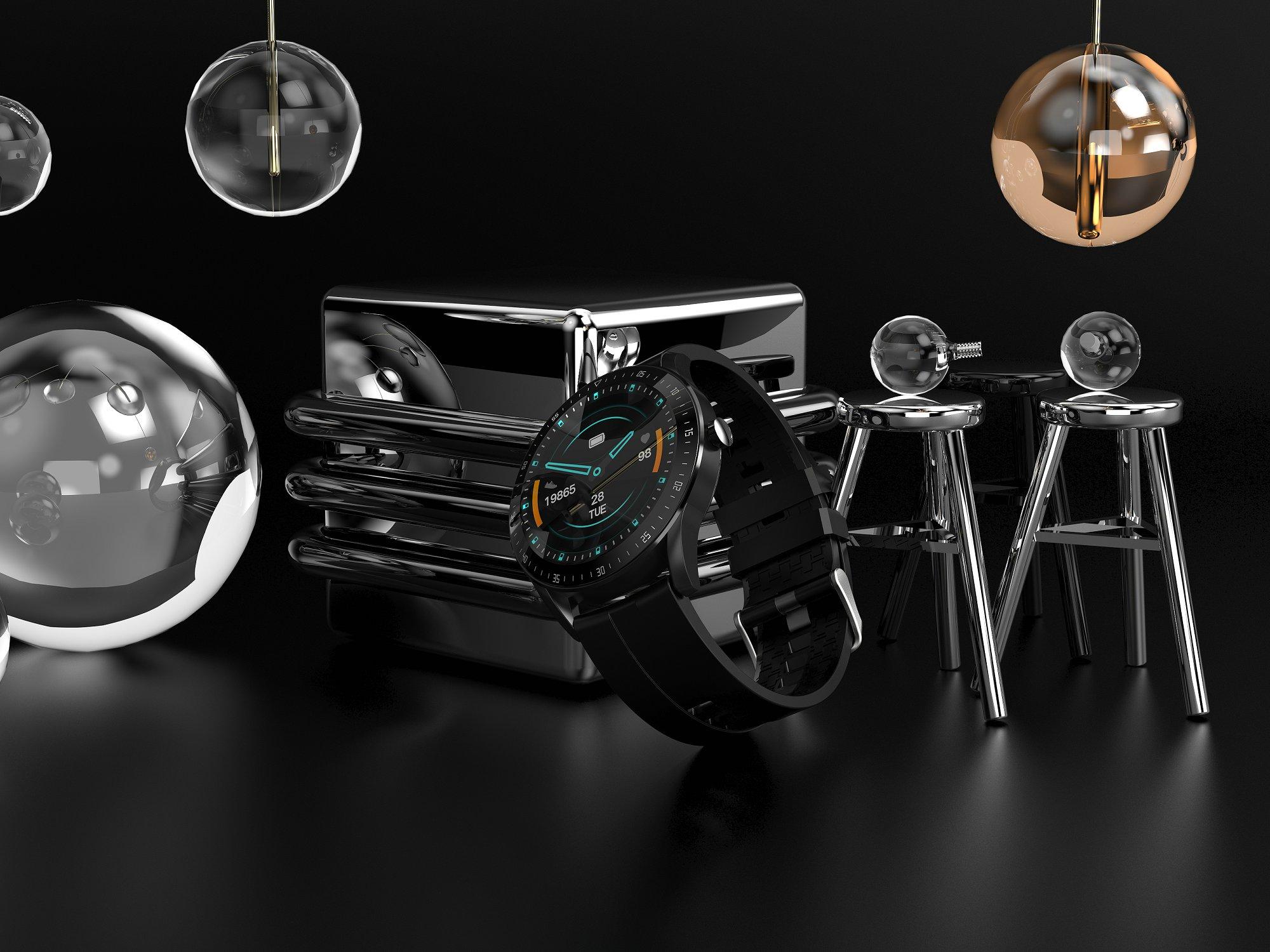 Hedf6cc2abf5a42b0947aeaf7549ed410h LEMFO F15 Full Touch Screen Smart Watch Men 5D Case