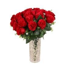 Коричневые высококачественные настоящие на ощупь лепестки роз