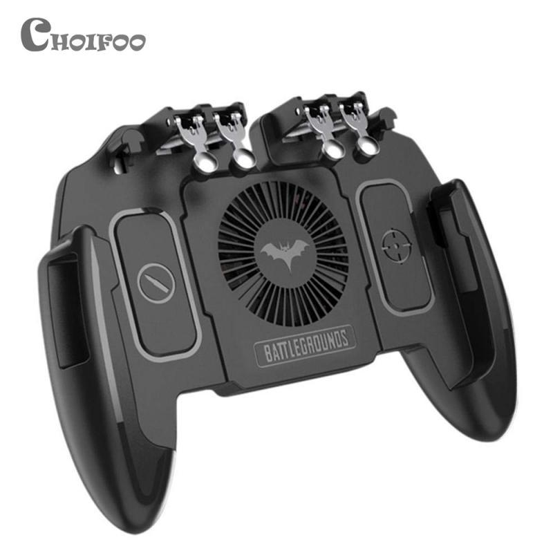 M10 PUBG мобильный контроллер геймпад с кулером охлаждающий вентилятор для iOS Android Samsung Galaxy L2 R2 операционный джойстик кулер