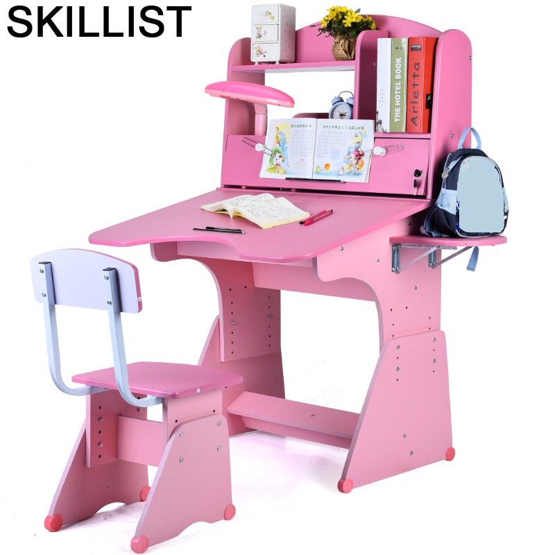 Silla Y Infantiles Chair And Stolik Dla Dzieci Kindertisch Adjustable Mesa Infantil For Bureau Enfant Study Kids Table
