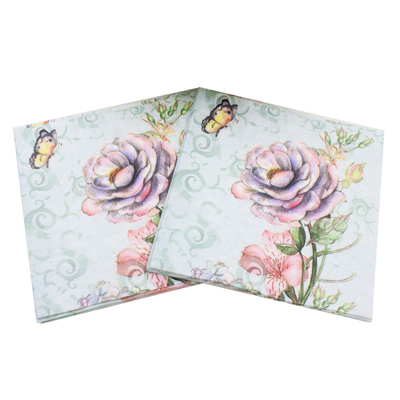 [Currently Available] New Products Listed Color Printed Napkin