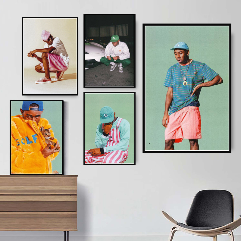Tyler The Creator Rocky Canvas Wall Art Painting