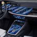 Для Audi A3 8V 2021Car интерьер центральной консоли прозрачная защитная пленка TPU Анти-Царапины ремонт пленка аксессуары ремонт LHD RHD