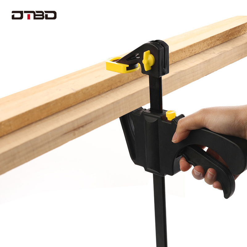 DTBD 4 inç iki yönlü F kelepçe ahşap kelepçe çalışma yuvarlak kelepçe klip ahşap serpme Gadget DIY aracı debriyaj mini araçları