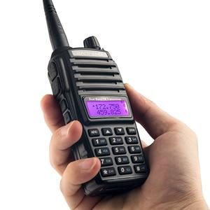 Image 2 - UV82 transmisor VHF UHF Walkie talkie Radio de dos vías Walkie Talkie Radio de jamón Comunicador uv 82 Baofeng uv 82 Walkie Talkie