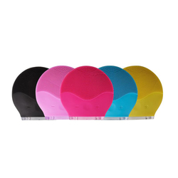 Ultra sonic elektrische gesichts reiniger Reinigung Pinsel Silikon sonic Vibration Mini Reiniger Deep Pore Reinigung Haut Massager