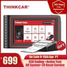 Thinkcar THINKTOOL OBD2 Diagnostic Tool Professional OBD2 Scanner Automotive TPMS Program ECU Coding 30 Reset OBDII Code Reader