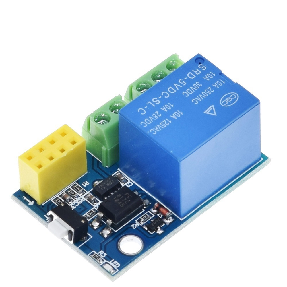 ESP8266 5V WiFi relay module DS18B20 DHT11 RGB LED Controller Things smart home remote control switch phone APP ESP-01S