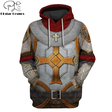 PLstar Cosmos Printed Knights Templar 3d hoodies/Sweatshirt Winter autumn funny Harajuku Long sleeve armor cosplay streetwear-43