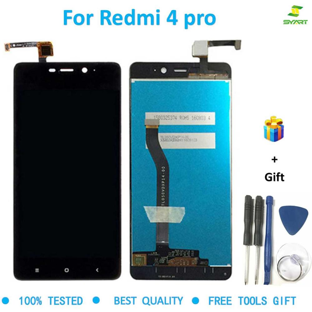 for Redmi 4 pro Lcd Snapdragon 625 version Screen display with Digitizer Assembly frame For Xiaomi Redmi 4 Pro display