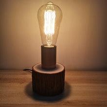 Деревянная настольная лампа Скандинавская гостиная декоративная