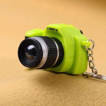 Créatif Super Mini caméra porte-clé LED 1