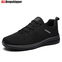 New Mesh Men Casual Shoe Lac-up Women Men Shoes Lightweight