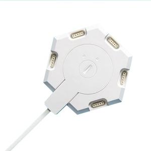 Image 3 - LifeSmart Lámpara LED Quantum para montaje de geometría inteligente, con WiFi, compatible con asistente de Google, Alexa, Cololight, APP de Control inteligente