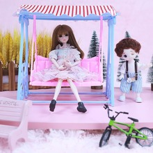 New OB11 Fashion Swing Chair Cute Children's Toy Doll Access