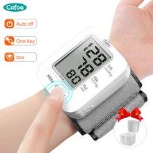 Cofoe المنزلية التلقائي المعصم الرقمية مراقبة ضغط الدم قياس ضغط الدم معدات طبية الصحة مقياس التوتر CE