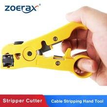 ZoeRax – coupeur et dénudeur pour CAT5 CAT6, outil à main de dénudage de câble plat ou rond STP/UTP pour RG59/6/7/11