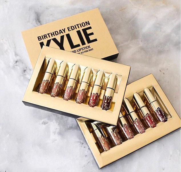 KYLIE Matte Lipstick+lips Pencil Makeup Lasting Waterproof Liquid Lip Gloss Kilie Lipstick Kyliejenner Lip  Eye Shadow