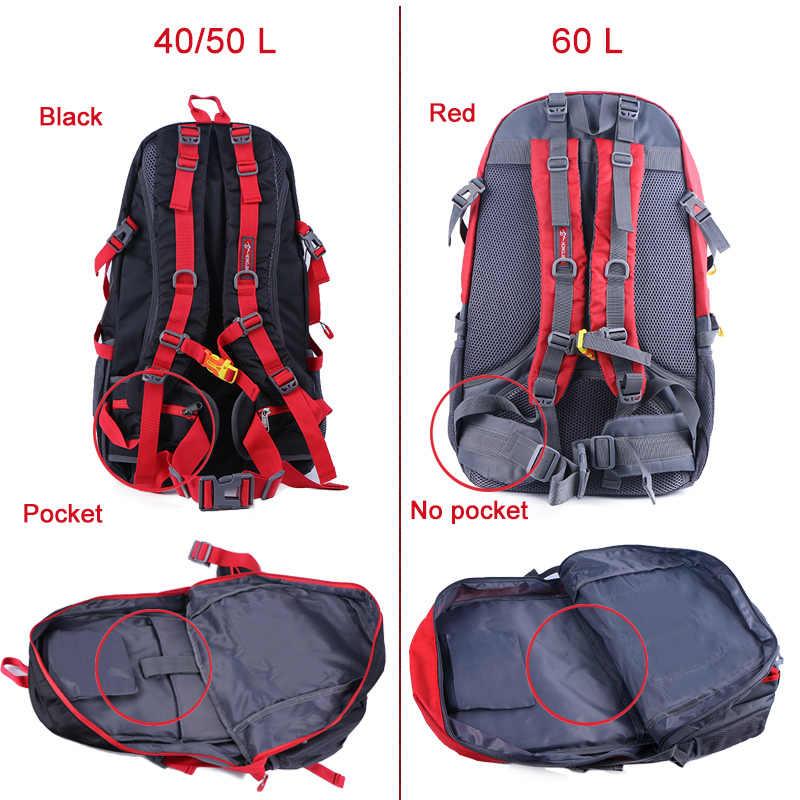 40/50/60L o dużej pojemności plecak turystyczny mężczyźni kobiety odkryty wspinaczka górska plecak sportowy plecak podróżny na wypoczynek