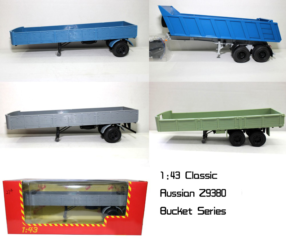 Special Offer  Foreign Trade  1:43  Russia  Former Soviet Union  9380 1980  Truck Bucket Model  Alloy Collection Model
