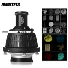 AMBITFUL AL 16 Focalize Conical Snoot Optical Condenser Art Special Effects Shaped Beam Light Cylinder with Shape and Color Gel