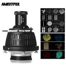 AMBITFUL AL 16 Focalize Konische Snoot Optische Kondensator Kunst Spezielle Effekte Förmigen Strahl Licht Zylinder mit Form und Farbe Gel