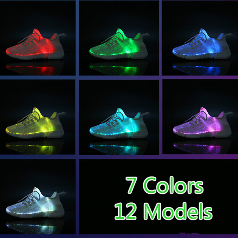 best black usb led light up shoes near