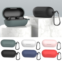 Capinhas para airpods pro sem fio bluetooth fone de ouvido capa para airpods 3 silicone macio acessórios caso manga com gancho