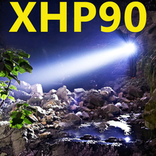 Most Bright XHP90 XHP70.2 Rechargeable LED Flashlight Super