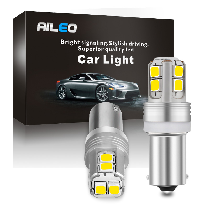 High Power Canbus Error Free BA9S T4W BAX9S H6W BAY9S H21W LED Reverse Parking Side Light License Plate Lights White Yellow Blue
