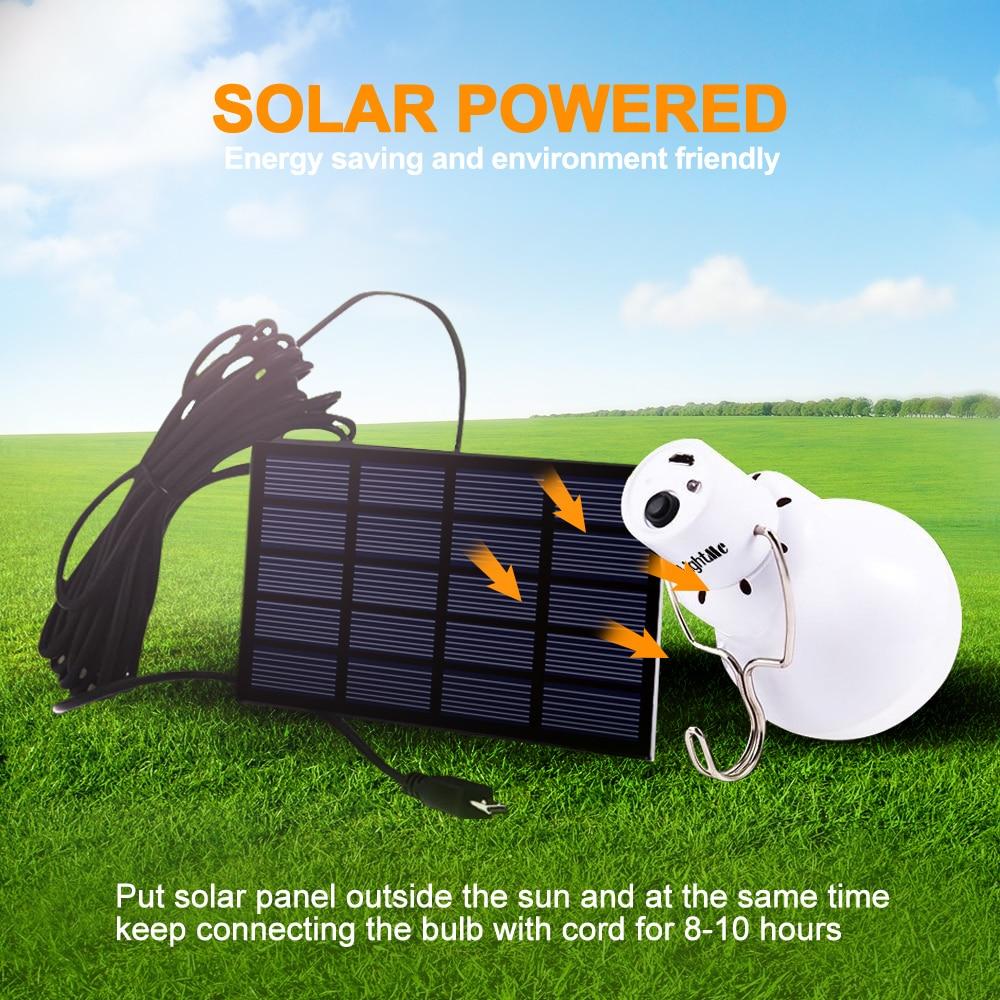 Junejour Outdoor 12 LED Solar Bulb Portable Solar Lamp Moving Hanging Emergency Energy Saving Camping Tent Light Solar Lighting