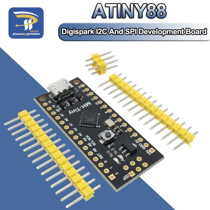 MH-Tiny ATTINY88 Micro Development Board 16Mhz //Digispark ATTINY85 Upgraded//Nano V3.0 ATmega328 for Arduino