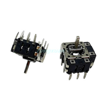 цена на 5pcs FJ06k-S Sliding Balance Multifunction Potentiometer B10k-1 with Four Direction Push Button Switch