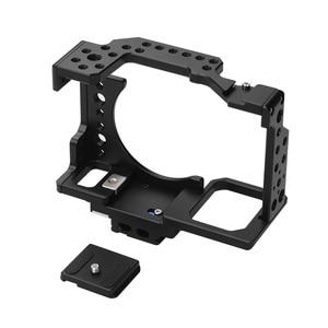 Image 3 - Andoer هيكل قفصي الشكل للكاميرا فيلم فيديو فيلم صنع استقرار الباردة حذاء تصاعد محول لسوني A7II/A7III/A7SII/A7M3/A7RII/A7RIII